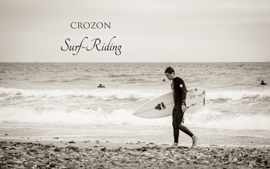 Crozon, surf riding